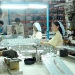 Factory Workers  In Taiwan